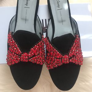 Minnie Mouse Bow Mules by Chiara Ferragni